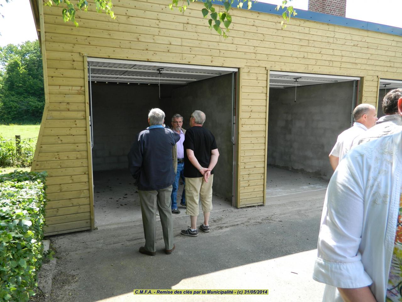 remise clé de notre garage