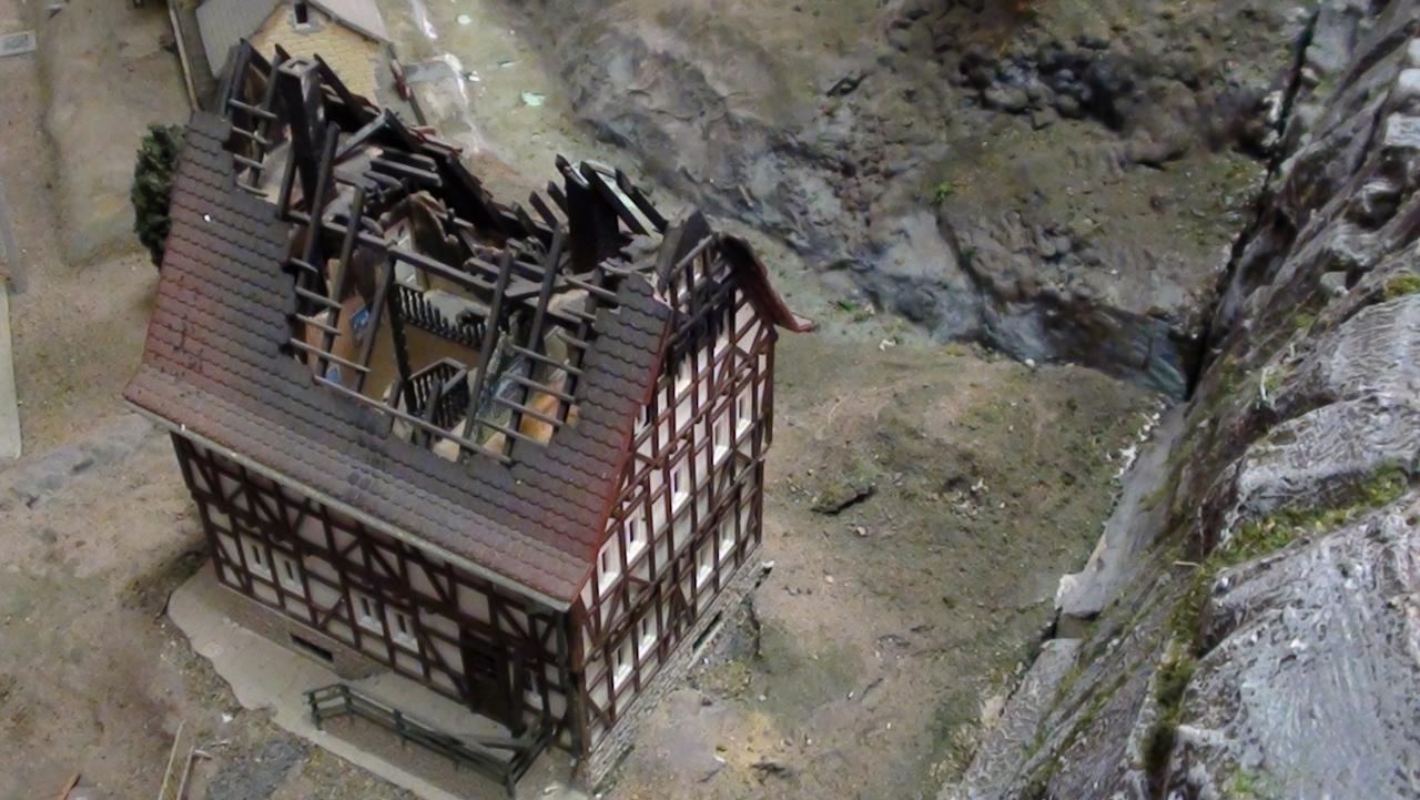 La maison brulée