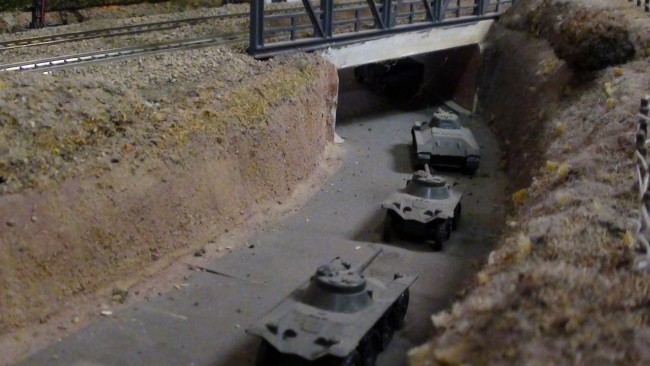 Le convoi militaire
